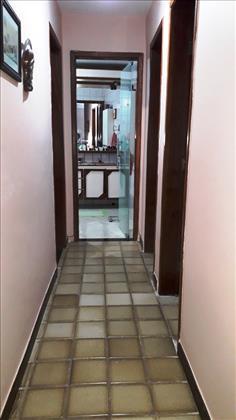 circulação para quartos e banheiros