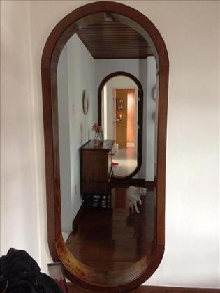porta de acesso aos quartos