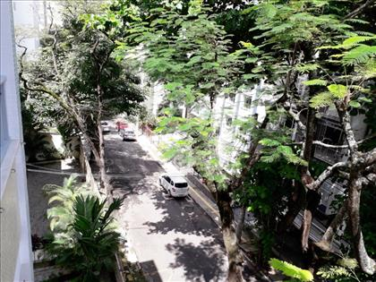 vista da rua - vista varanda