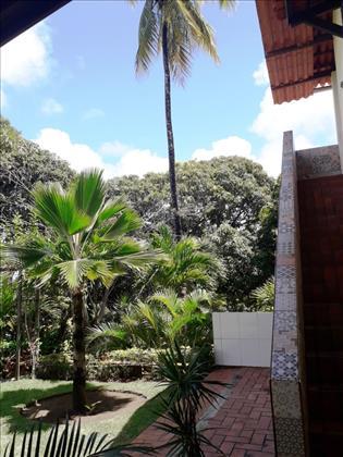 escada de acesso pav. superior casa sede