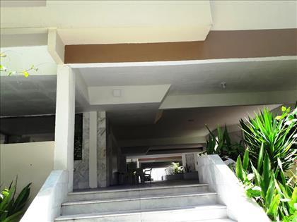 escada de acesso ao predio