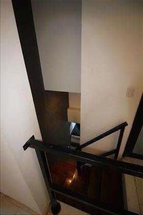 Escadas de acesso à cobertura