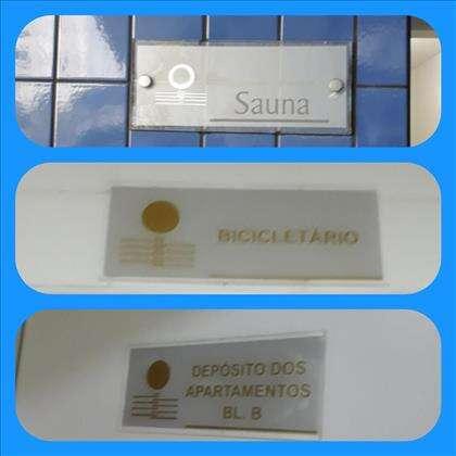 Sauna/bicicletário/deposito dos apartamentos
