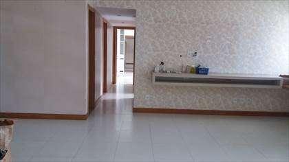 Sala e circulação para os quartos